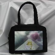 Handbag (with Silk-cloth in special printing) (Сумочка (шелковой тканью в специальной печати))