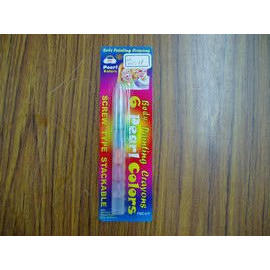 Face and Body Painting Crayons--pearl color multi section screw type