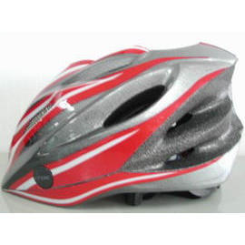 In-mold helmet