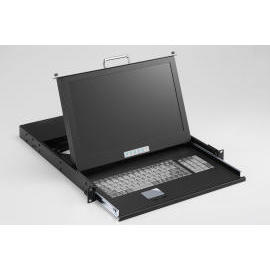 Wide 16:9 LCD Monitor Industrial KVM Drawer (16:9 ЖК-монитор Промышленный KVM Drawer)