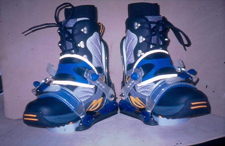Snowboard Pivot Binding & Thermoformed Boots (Сноуборд Pivot Binding & Термоформованные Boots)