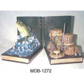 Resin Bookends