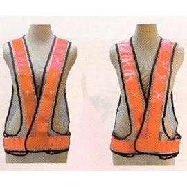 Ultra safe LED lighted vest