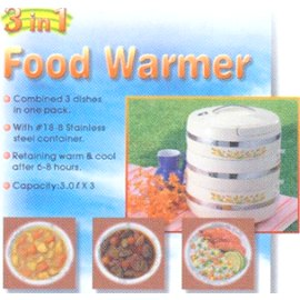 Food Warmer, Hot Food Server.