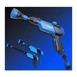 Powerful Spray Jet Wash Gun with 6-Pattern Rotating Nozzle