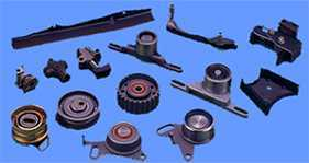 CHAIN TENSIONER, CHAIN GUIDE, BELT TENSIONER, IDLER