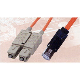 SC / MTRJ Fiber Optic Patch Cable
