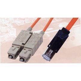 SC / MTRJ Fiber Optic Patch Cable