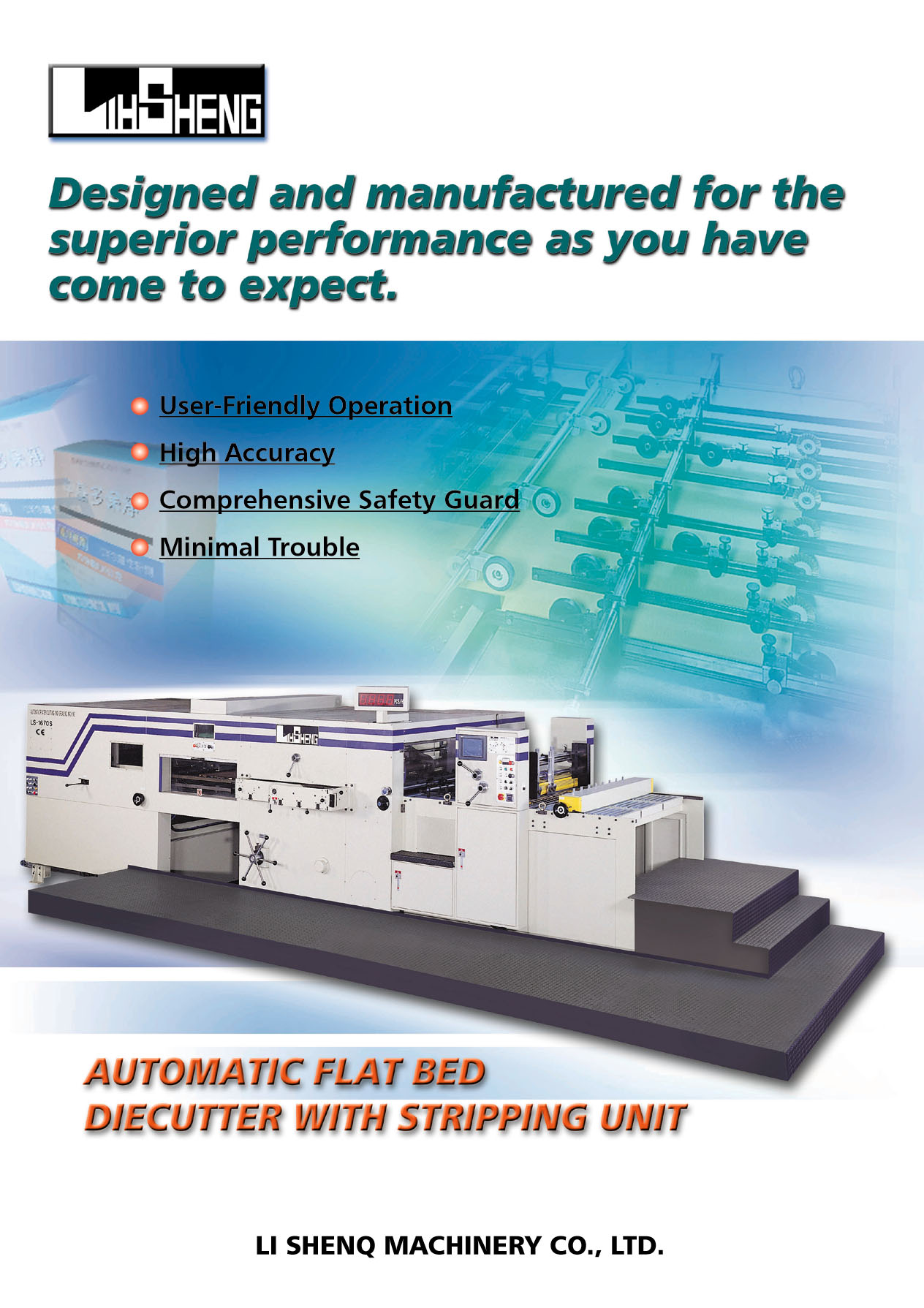 Automatic Flat Bed Die Cutter
