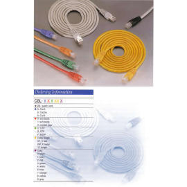 Cat.5E & Cat.6 Cable,CAT 6 Patch Cables,RJ45 UTP Patch Cables,Patch Cables