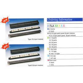 Cat 5E Patch Panels,CAT 6 Keystone Patch panels, IDC  Patch Panels,Rack Mount Pa (Cat 5E патч-панели, CAT 6 Keystone коммутационные панели, патч-панели IDC, для монтажа в стойку Па)