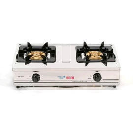 Two burners of counter top gas stove (Две горелки борьбе плита газ)