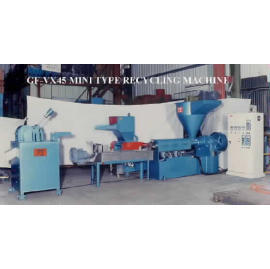 PLASTIC PELLET MAKING MACHINE, PLASTIC RECYCLING MACHINE, EXTRUDER, JANDI`S, jan