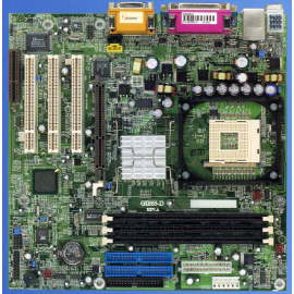 INTEL 845 Socket 478 SDRAM Supported System Board