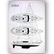 Taswell 58 Deck Layout