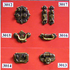Dollhouse Cabinet Hardware (Dollhouse Cabinet Hardware)