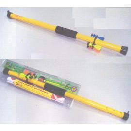 Suction tip blowgun