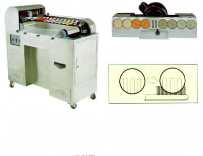 Automatic Bristle Trimming & End-Rouding Machine
