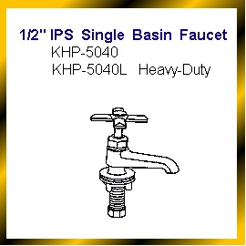 1/2`` IPS Single Basin Faucet