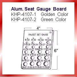 Alum.Seat Gauge Board (Alum.Seat Gauge Board)