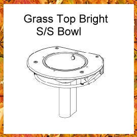 Glass Top Bright S/S Bowl (Со стеклянной столешницей Bright S / S Чаша)