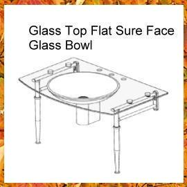 Glass Top Flat Sure Face (Со стеклянной столешницей квартира Конечно F e)