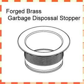 Forged Brass Garbage Disposal Flange (Кованые латунные Garbage удалением фланец)