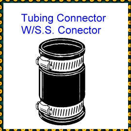 ThermoPlastic Tubing Connector W/S.S. Connector (Термопластичные трубы Connector Вт / S.S. Connector)