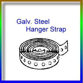 Galv. Steel Hanger Strap (GALV. Сталь для подвеса ремень)