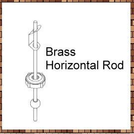 Brass Horizontal Rod (Латунь Горизонтальные Rod)