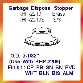 Garbage Disposal Stopper (Мусор удалением Пробка)