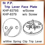 fit P.P. Trip Lever Face Plate (Fit П.П. Дорожные Рычаг лицевой поверхности)