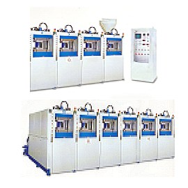 FULLY-AUTOMATIC EVA DIRECT INJECTION MOULDING MACHINE