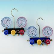 3-Way Aluminum Manifold Gauge Set - Screw Type (3-Way алюминиевого коллектора Калибровочные Set - винтового типа)