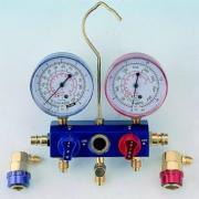 2-Way Aluminum Manifold Gauge Set - 1/4 Turn Type (2-полосная алюминиевого коллектора Калибровочные Set - 1 / 4 оборота типа)