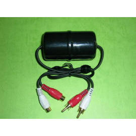 CAR ACCESSORIES, NOISE FILTER, AUDIO SYSTEM GROUND LOOP ISOLATOR