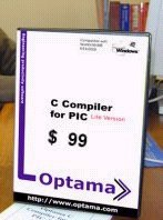 Optama C Compiler for PIC