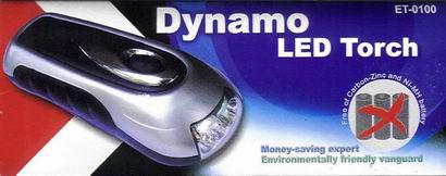 Dynamo Led Torch (Dynamo LED Torch)