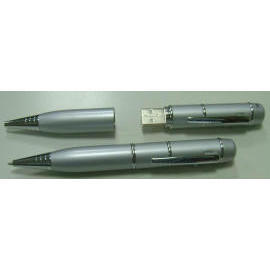 USB Flash Drive Pen and Laser Pointer (USB Flash Drive Pen und Laser-Pointer)