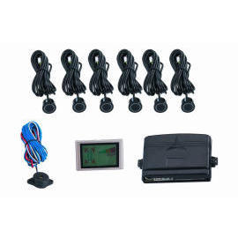 6 Sensor Parking Sensor with Color LCD Digital display warning (6 Датчик парковки Датчик с цветной ЖК предупреждение Цифровой)