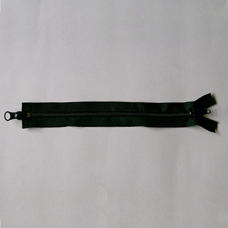 Nylon zipper two ways