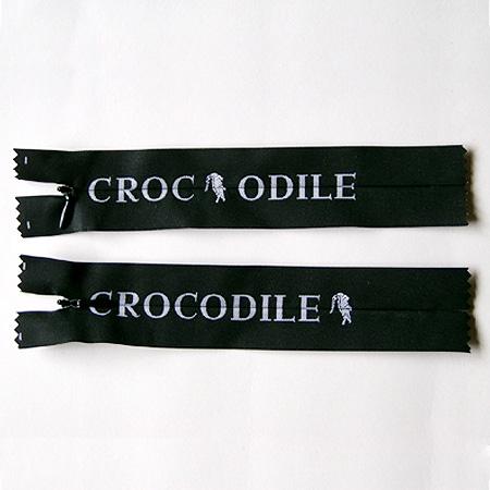 Brand zipper