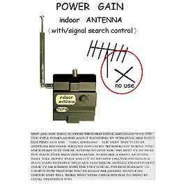 POWER GAIN INDOOR ANT (Выигрыш в мощности INDOOR АНТ)