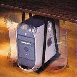 Adjustable Swiveling CPU Holder Mounted Under Desk (Регулируемый держатель Вращающиеся процессор, установленный под стол)