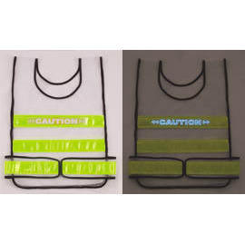 EL & reflective safety vest