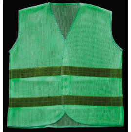 Luminescent & reflective safety vest
