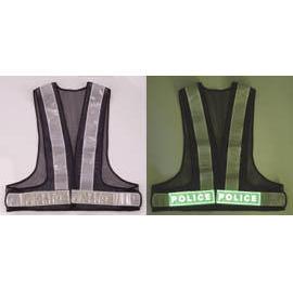 Luminescent & reflective safety vest (Люминесцентные & отражающей Жилет безопасности)