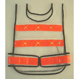 LED & Reflective safety vest