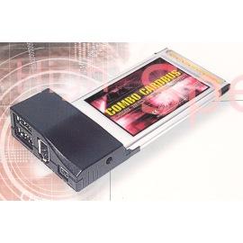 USB 2.0/FireWire Combo CardBus