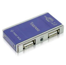 Slim USB 2.0 4 port Hub (Slim USB 2.0 4 порта концентратора)